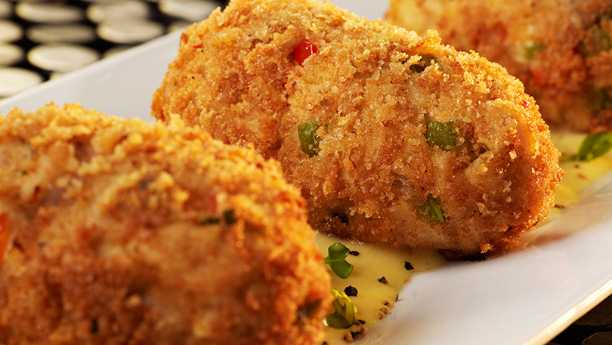 Rice Chicken Croquettes