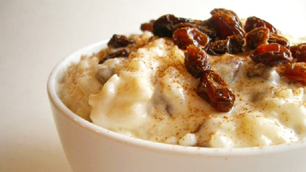 Rice Pudding With Dates