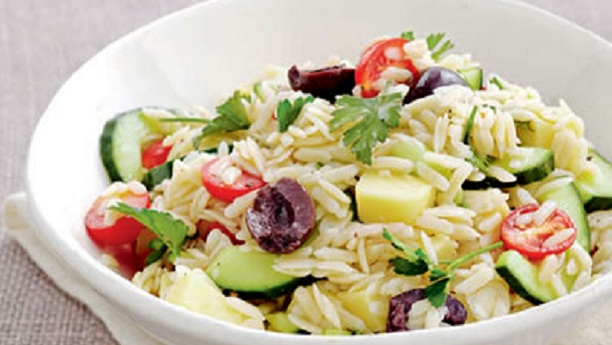 Rice and Pasta salad