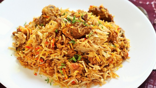 Rice with Lamb (Mutton Biryani)