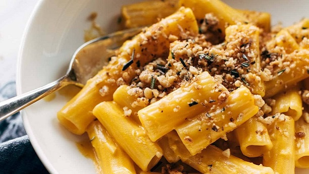 Rigatoni With Pumpkin