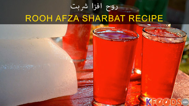 Rooh Afza Chef Fauzia Recipe