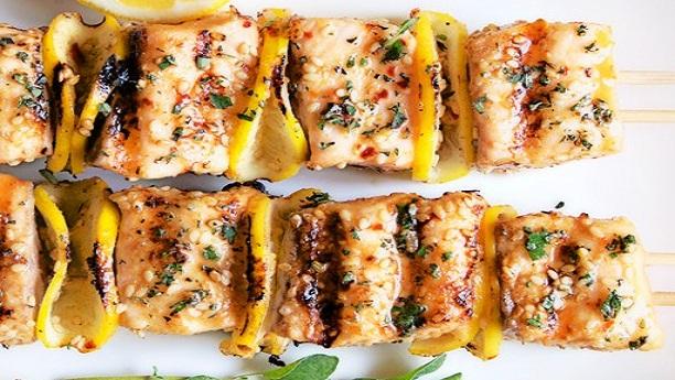 سالمن کباب by Chef Shazia