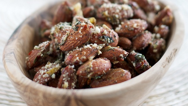 Savory Almonds Recipe