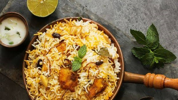 شاہی چکن بریانی<br/>Shahi Chicken Biryani