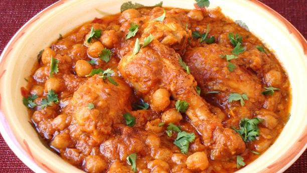 Shahi Murg Cholay Recipe