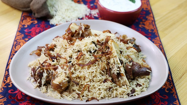 Shahi Mutton Pulao  Recipe