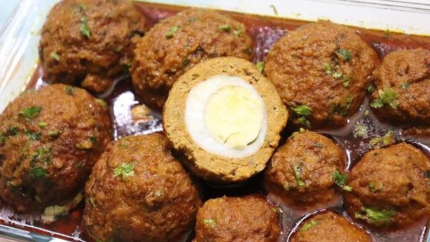 شاہی نرگسی کوفتے<br/>Shahi Nargisi Meatballs