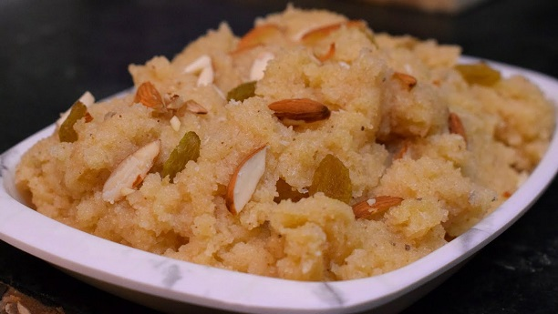 Soji with Nuts Recipe