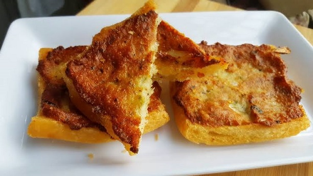 Spicy Chicken Toast Recipe