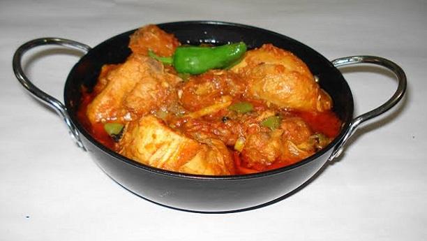 اسپائسی چکن کڑاہی<br/>Spicy Chicken karahi