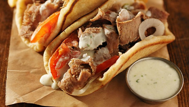 Spicy Greek Mutton Gyro Recipe