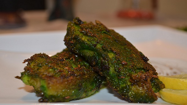 Spicy Green Sindhi Fish