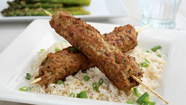 Spicy Kabab Rice