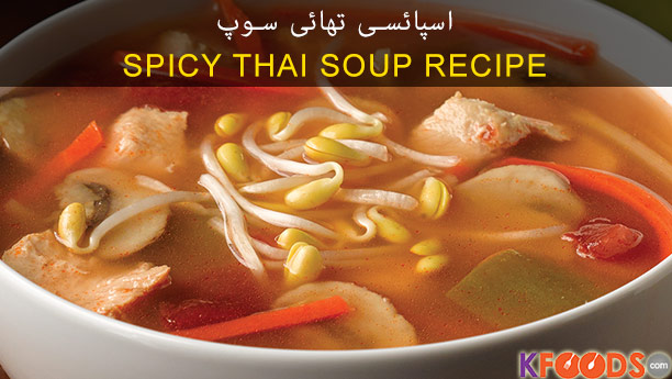 Spicy Thai soup Recipe