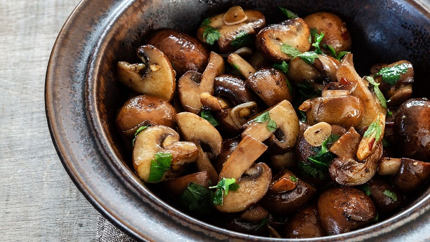 Stir Fried Mushrooms