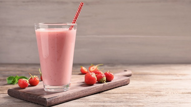 Strawberry Smoothie By Bajias Cooking by Chef Bajias