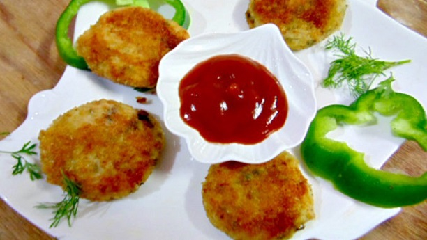 Stuffed Paneer Cutlets By Rida Aftab