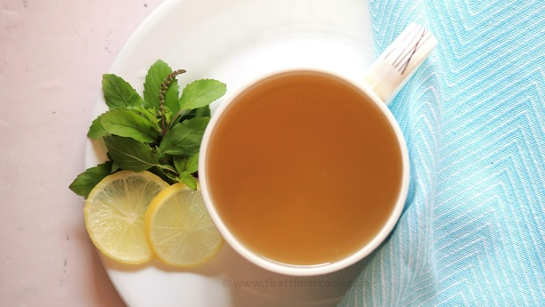 Sweet Ginger Tisane