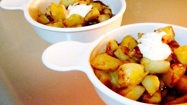 Taco Bell Cheesy Fiesta Potatoes