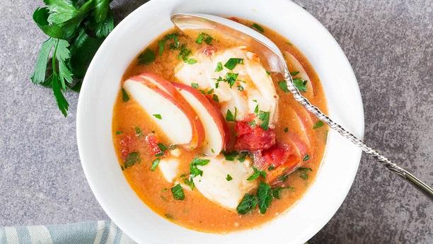 ٹماٹر اور ادرک کے ساس والی مچھلی