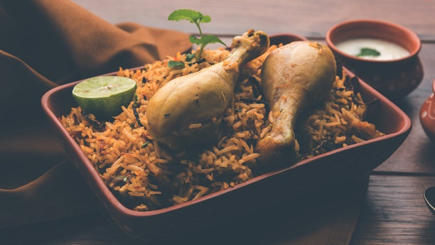 Tandoori Chicken Biryani Recipe