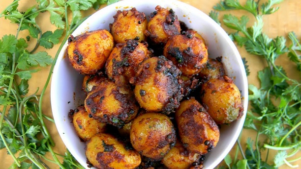 Tandori Aloo Or Aloo Tarka Salad  Recipe