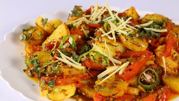 Tarka Aloo recipe