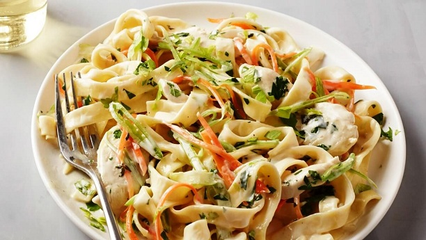 Tarragon Chicken pasta Recipe