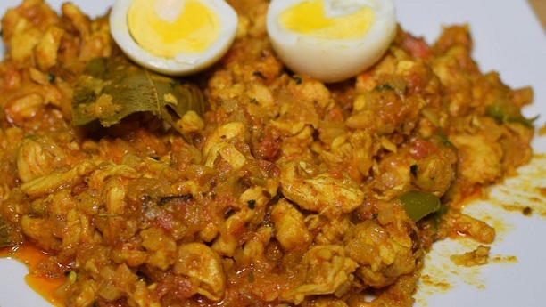 Tawa Chicken Bharta
