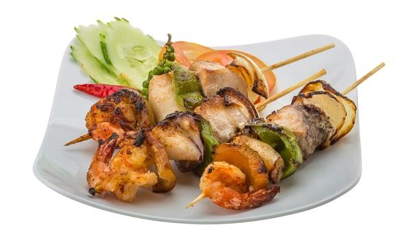 Thai Sea Food Kabab