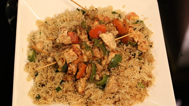 Tikka Stick with Rice