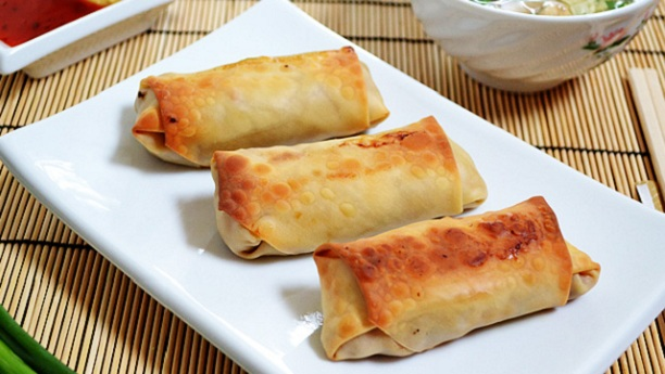Vegetable Egg Roll by Chef Fauzia
