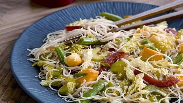 Vegetable Fried Rice Noodles