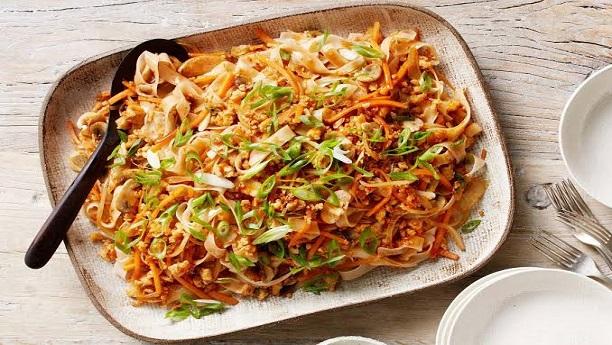 ویجی ٹیبل فرائڈ رائس نوڈلز<br/>Vegetable Fried Rice Noodles