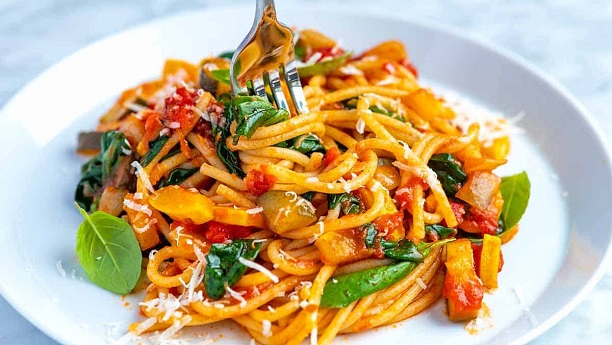 Vegetable Spaghetti Recipe