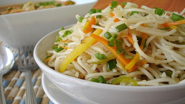 Vegetables Egg Noodles