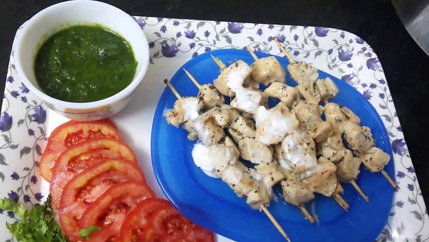 White Chicken Tikka Recipe