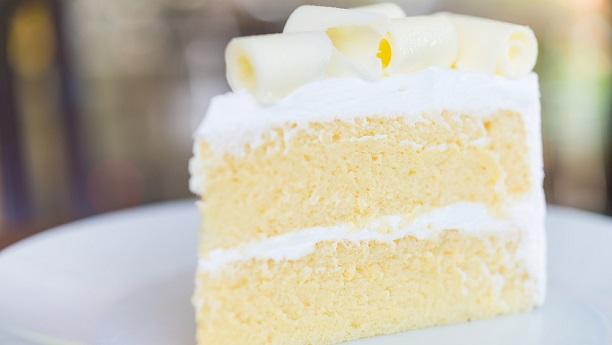 White Velvet Wedding Cake  Recipe