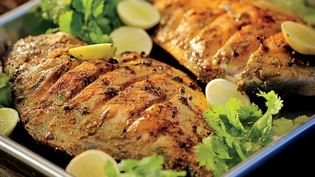 Whole Fish Masala Style