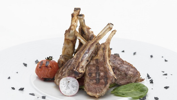 Arabian Spiced Rack of Lamb with Couscous