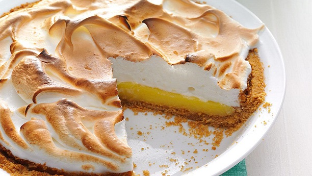 Buttermilk-Lemon Pie
