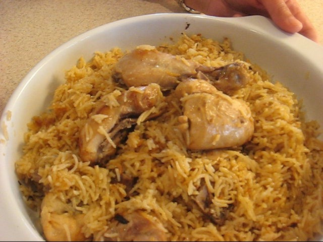 Chicken and Mutton Pulao