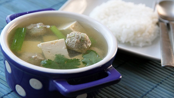 Chicken Balls in Daikon Soup by Chef Gulzar