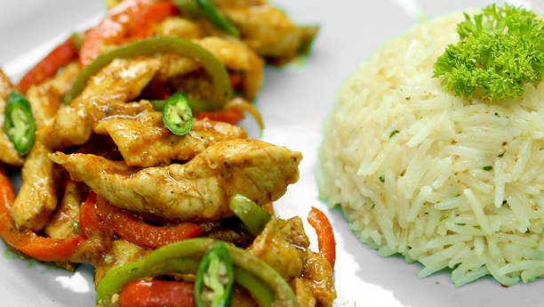 Chicken Jalfrezi Rice