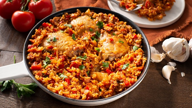 Chicken Paella by Sharmane Sayeed