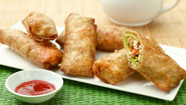 Chicken Spicy Vegetable Roll