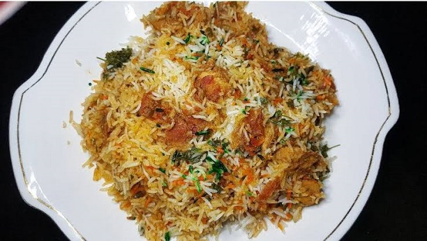 chinese chicken Pulao biryani Recipe