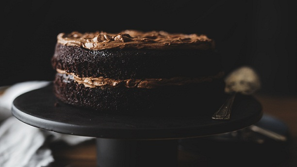 Chocolate Cake With Decadent Chocolate Frosting