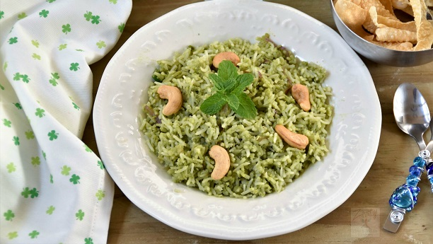 Coconut Mint Rice